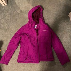 Women's large Colombia winter jacket